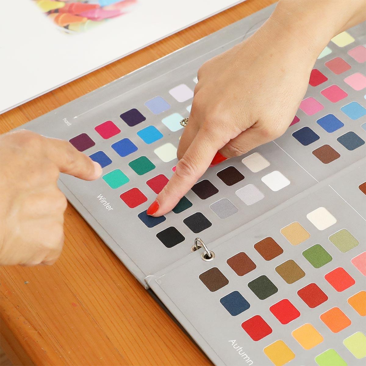 イメージコンサルティング ブランディングカラー決定